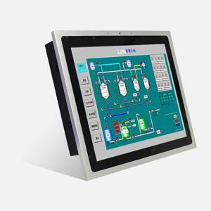 17寸工业平板电脑工控一体机触摸屏工控机工业一体